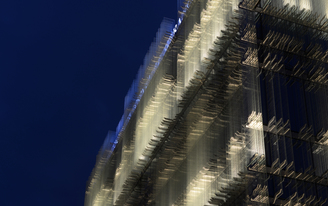 Tour the optical illusion of Giovanni Vaccarini's facade system for the SPG Headquarters