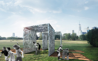Check out the winning entry for the City of Dreams Pavilion competition for Governors Island