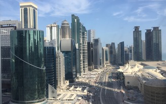 With the Middle East in diplomatic crisis, what will happen to Qatars building projects?