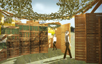 NewSchool of Architecture and Design Students Win First Place for Structure Commemorating Jewish Tradition