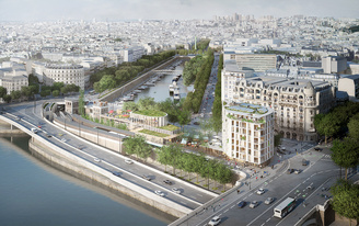 SO—IL + Laisné Roussel to revamp Place Mazas near the Seine River