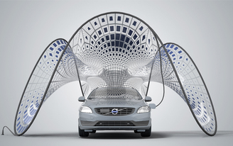 "Synthesis wins the Volvo ""Switch to Pure Volvo"" Pavilion Design Competition"