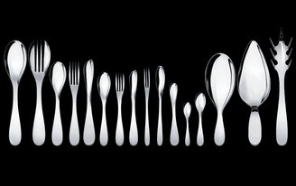 WAA and Alessi launch the Eat.it cutlery set