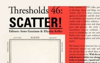 Thresholds 46: Scatter! Call for Submissions
