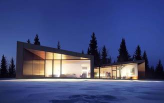 A Canadian developer is building an enclave of world-class architecture in the Alberta foothills