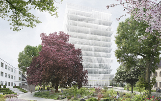 XML receives honorable mention in competition for a new United Nations headquarters in Bonn.