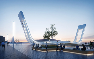 Dutch + Latvian team to design Estonias first movable pedestrian bridge in Tallinn