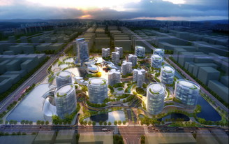 GDS Architects Complete Design of 22 Hectare Mixed-Use Science & Technology Park in Zhengzhou