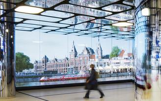 WAA complete the IJhal in Amsterdam