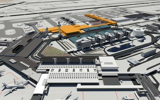 OMA, MVRDV, UNstudio and other big names competing for Amsterdam Airport Schiphol terminal makeover