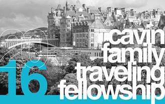 2016 Cavin Traveling Fellowship