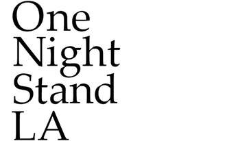 One-Night Stand for Art & Architecture