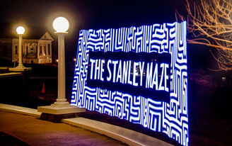 The Stanley Hotel public Hedge Maze Design Contest
