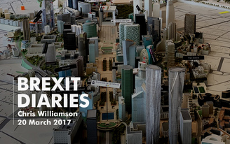 Brexit Diaries: Chris Williamson, 20 March 2017