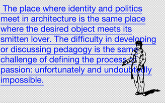 Cross-Talk #2: Deborah Garcia on 'Pedagogy' Today