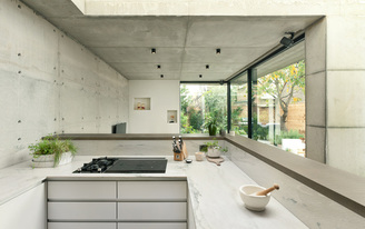 Double Concrete House