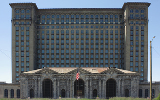 Redevelopment of Detroits Michigan Central Station slowly gaining momentum