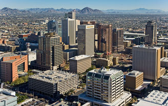 Maricopa County in Arizona, home to Phoenix, experienced the largest population growth in 2016