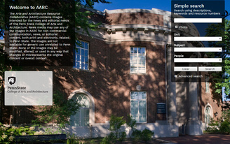 Penn State's College of Arts and Architecture launches digital photo archive