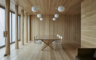 "Ten Top Images on Archinects ""Wood"" Pinterest Board"