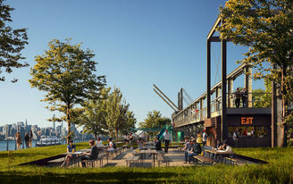 First look at Domino Sugar Factory's 11-acre park and waterfront esplanade