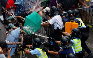 #OccupyCentral Hong Kong democracy protests & public space