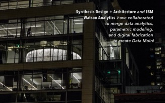 Data Moire by Synthesis Design + Architecture with IBM Watson