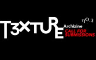 "Call for Submissions: T3XTURE Archizine Issue No. 2 ""TEXTURE OF ORNAMENT"""