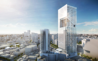 Richard Meier & Partners Unveils Reforma Towers in Mexico