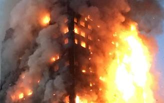 """London tower block fire kills twelve; previous warnings about """"very poor fire safety standards"""" may have gotten ignored"""