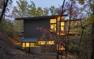 The winning North Carolina modernist houses of the 2017 George Matsumoto Prize