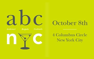 abc/nyc - A Celebration of Architecture and Archtober, hosted by Archinect & Bespoke