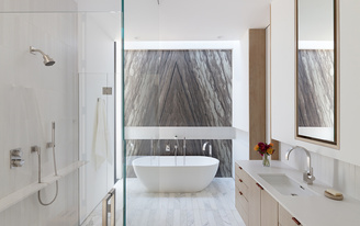 """Ten Top Images on Archinect's """"Bathroom Spaces"""" Pinterest Board"""