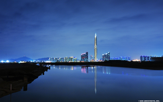 Worlds First Invisible Highrise - The 450m Tall Infinity Tower - Granted Permit
