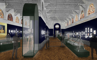 The V&A Museum releases rendering of its new Photography Center designed by DKA