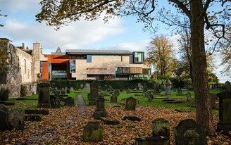 Step inside Scotlands new Dunfermline Carnegie Library & Galleries, designed by Richard Murphy Architects