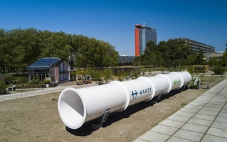 Work on Europes first hyperloop test facility in Delft has been completed
