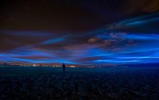 'Waterlicht' by Daan Roosegaarde creates Dutch water awareness