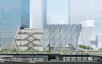 Watch the Shed slide along the High Line