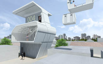 """Untangling Manila's Infrastructural Mess With a Web of Aerial """"Capsules"""""""