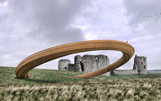 A petition to scrap design for Iron Ring sculpture causes the Welsh government to pause the proposed plan