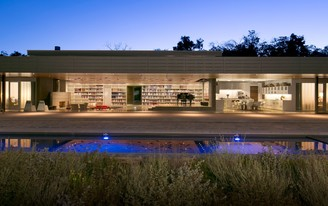 A closer look at the secluded Wall House, designed by Johnson Fain