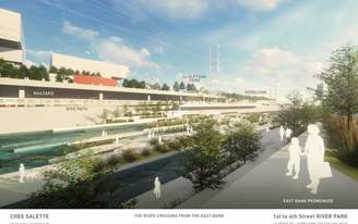 Seven firms release new renderings for LA River restoration projects