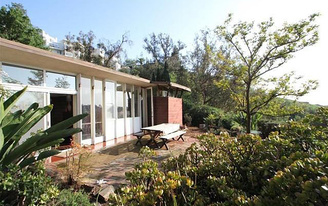 Designer Trina Turk turns forgotten John Lautner house into midcentury jewel box