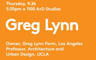 Greg Lynn at UIC School of Architecture