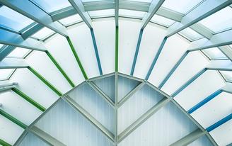 Closer look: Austin-Bergstrom International Airports Terminal East Infill, a 2017 IDEAS² Structural Steel national awardee
