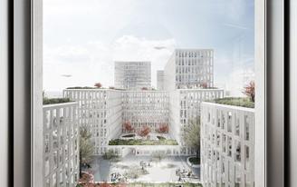 WAA win competition to design 'Am Hirschgarten' in Munich, Germany
