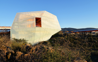 SelgasCano's Magical Rock-Like Auditorium Opens in Spain