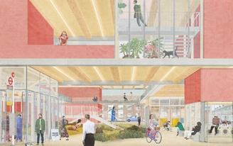 'Ethical Dwellings for Generation Y' explores new forms of living and owning in a changing London
