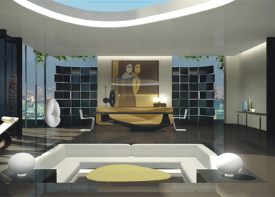Living {room} in Barcelona